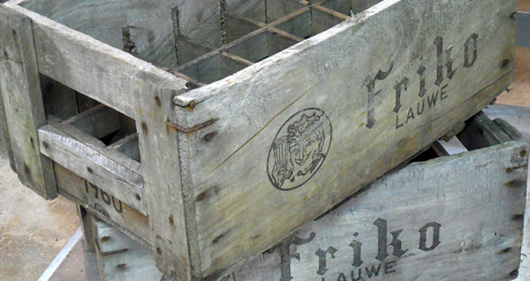 Drag & Slide: Crate on Concrete