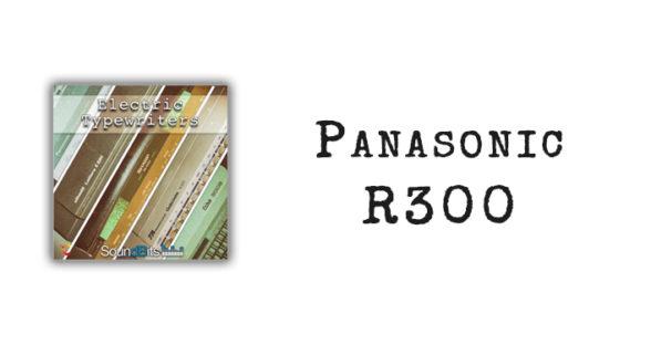 Electric Typewriters: Panasonic R300