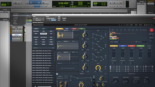 burst mode weapon sounds, tail mode weapon sounds, gun sound effects, gun sound design