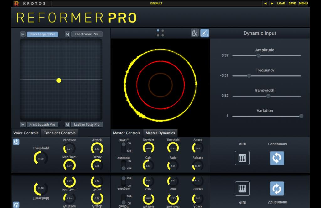 Krotos Reformer Pro Sound Design