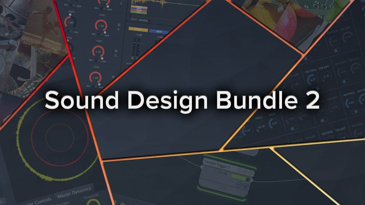 Sound Design Bundle 2, sound design software package, best software bundle for sound design, krotos software package, krotos deals