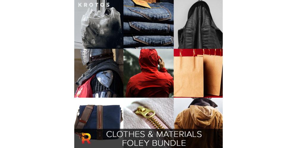 Krotos Clothes and Materials Foley Bundle