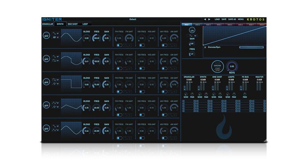 Krotos Igniter sound design plugin