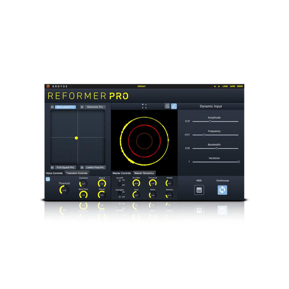 Krotos Reformer Pro sound desing plugin