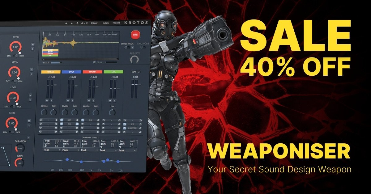 Weaponiser sale