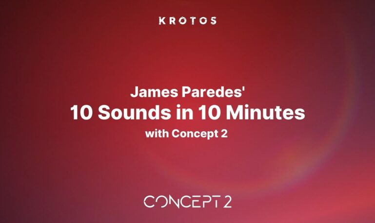 James Paredes 10 Sounds in 10 Minutes with Concept 2