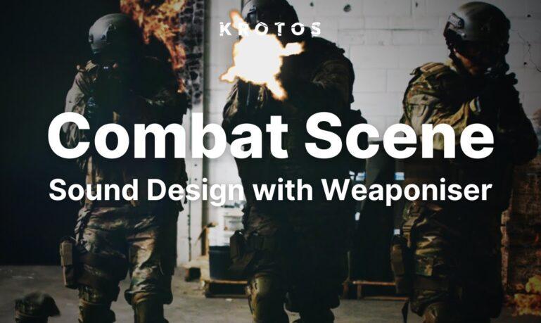 Combat scene sound design with Weaponiser
